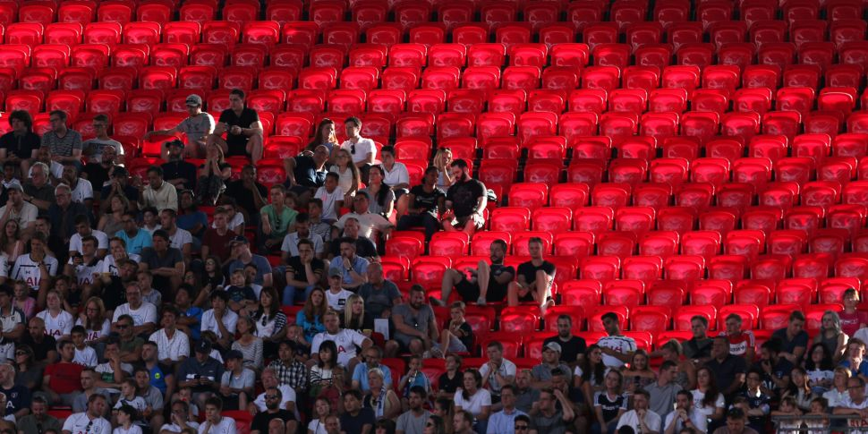 FA Cup final could be used as...