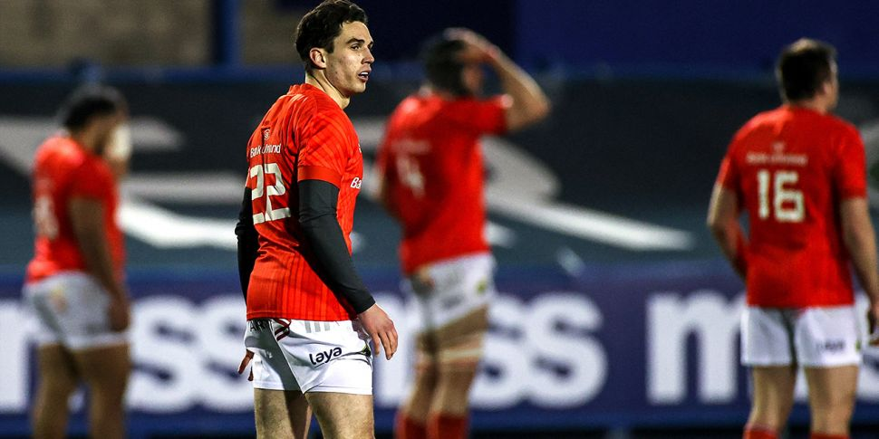 Carbery on the bench for Munst...