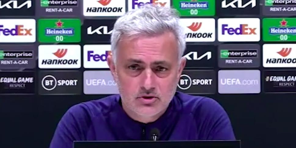 WATCH: Mourinho aims cheeky di...