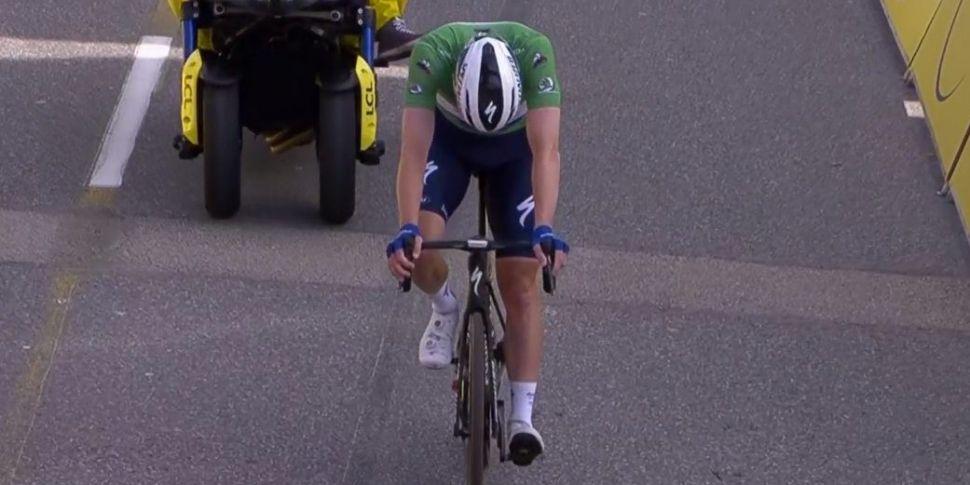 Final km too much for Bennett...