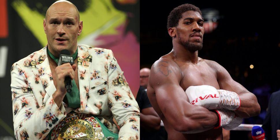 Tyson Fury & Anthony Joshua fi...