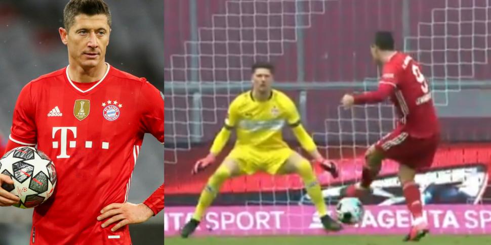WATCH: Lewandowski hits remark...