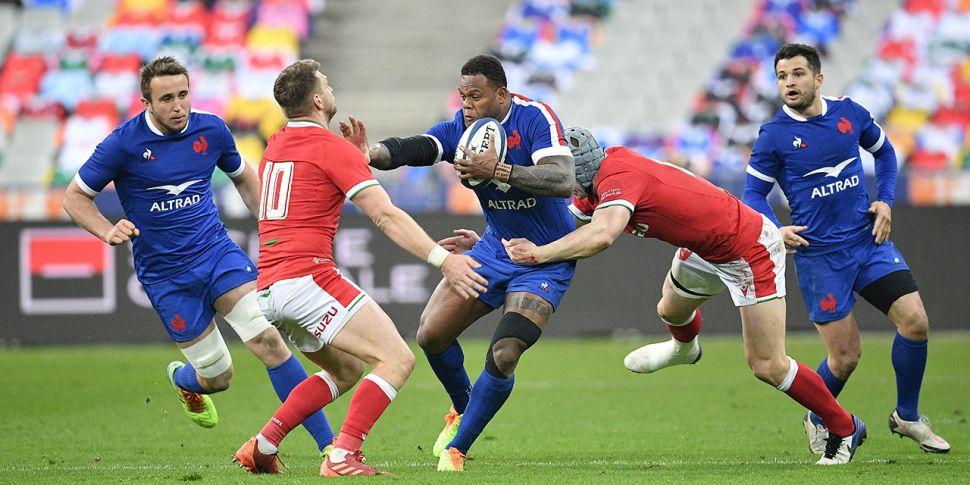 WATCH: France crush Welsh gran...