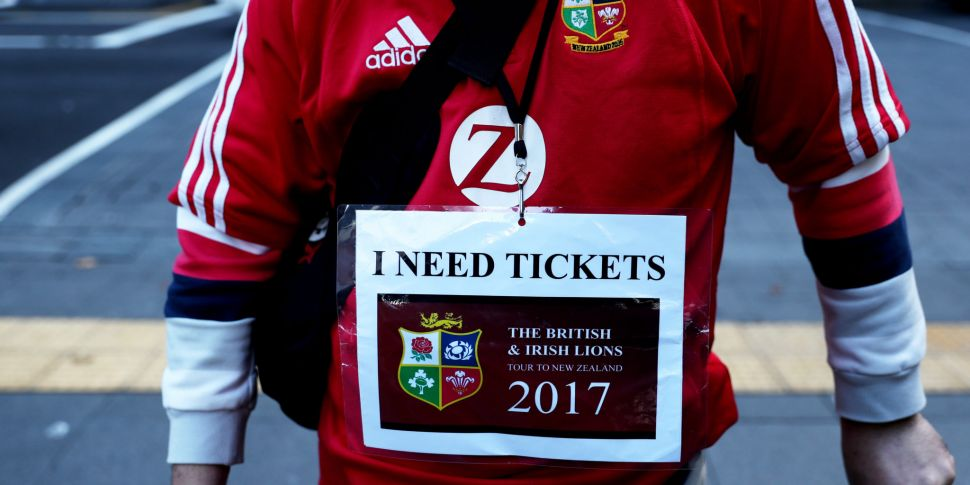 Lions tour to South Africa to...