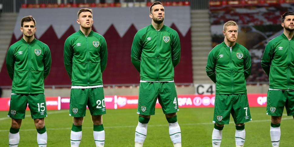 'Current Ireland squad the wea...