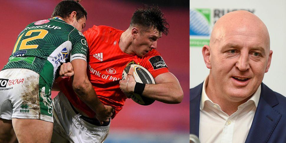 Munster's Jenkins signing 'sen...
