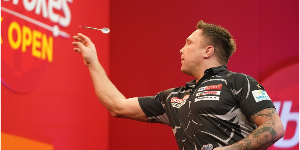 Gerwyn Price ruled out of Prem...