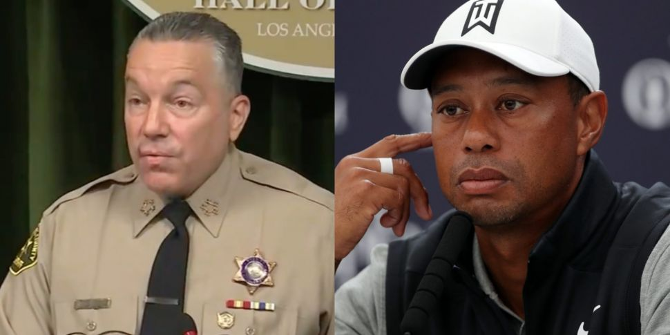 Tiger Woods reacts to police r...