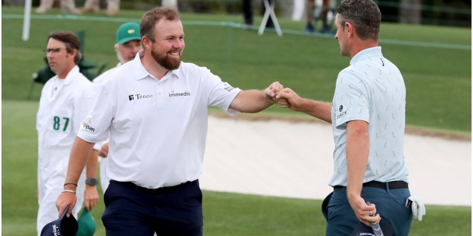 Lowry under par at Augusta as...