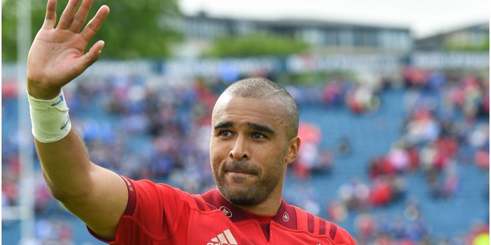 Simon Zebo set for Munster ret...
