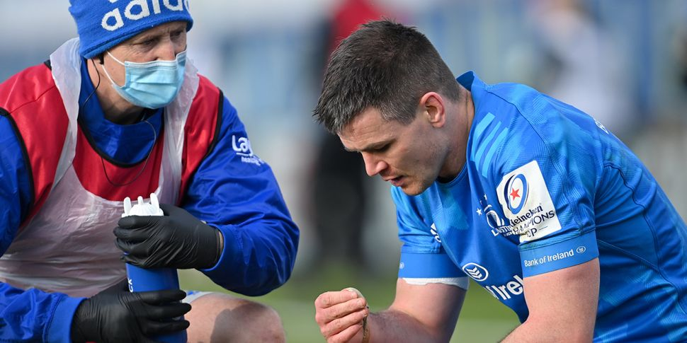 Leinster to be without Sexton...