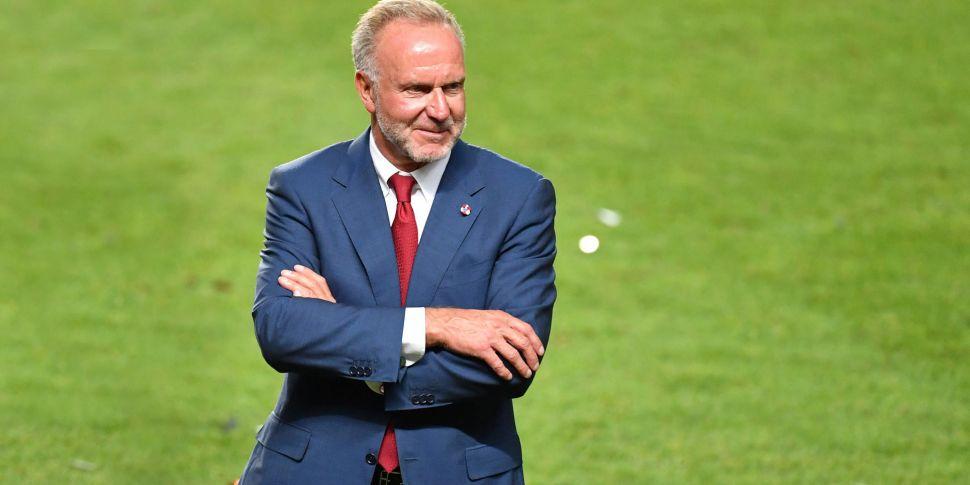 Bayern CEO Rummenigge distance...