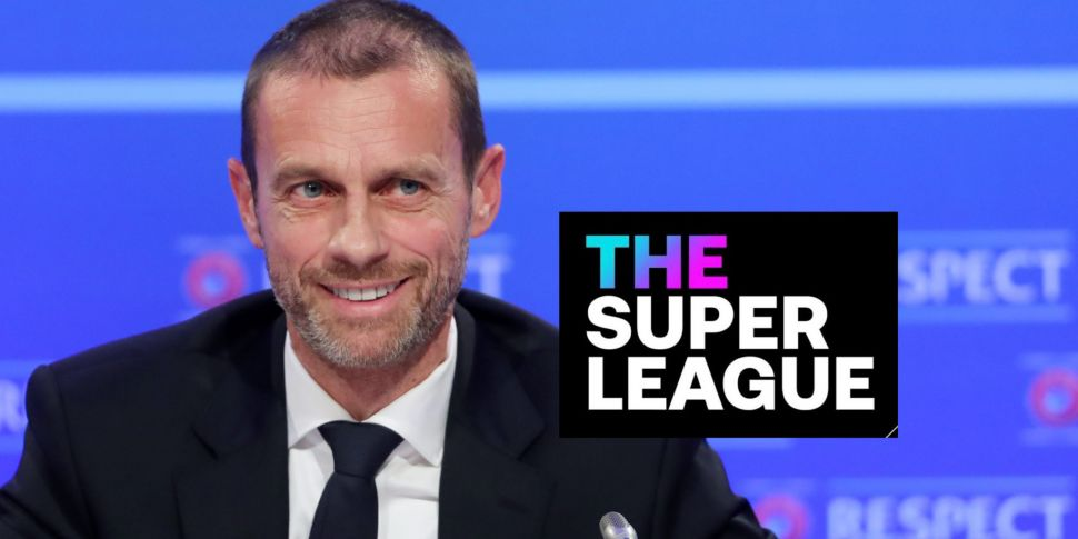 Ceferin says Super League hold...