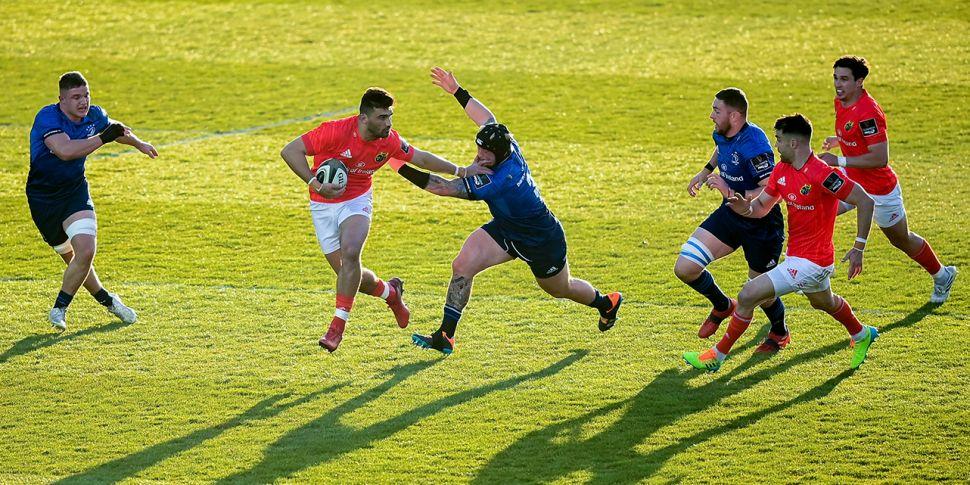 WATCH: Munster get the Leinste...