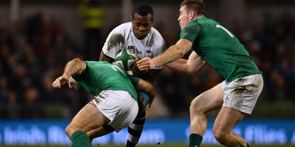 Ireland's tour of Fiji cancell...