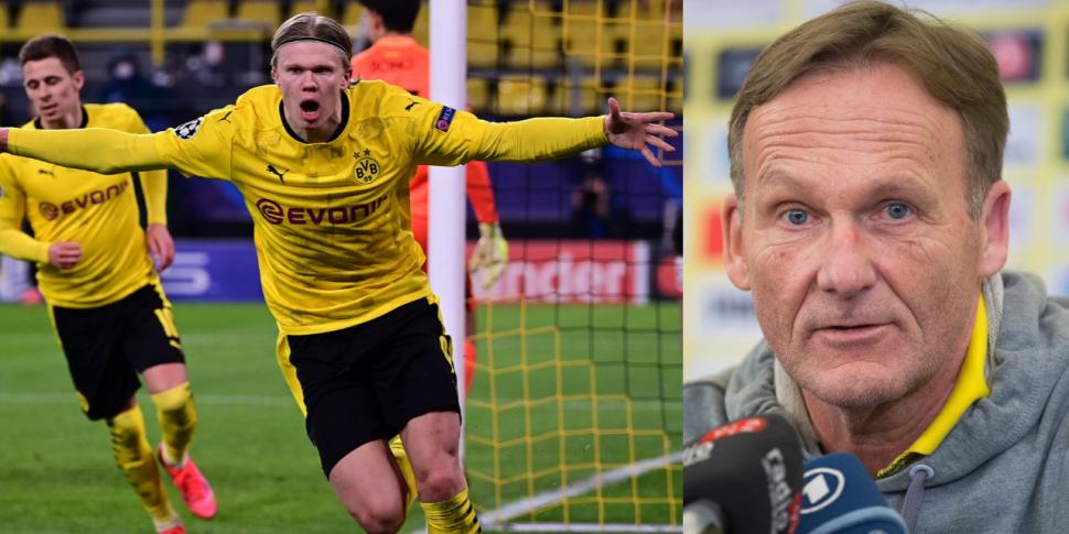 'Haaland will remain a BVB pla...