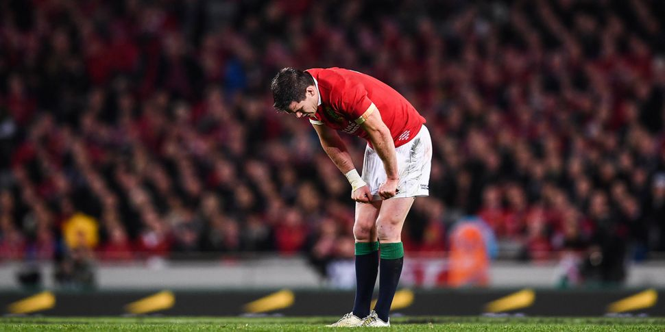 REACTION: Eight Irish players...
