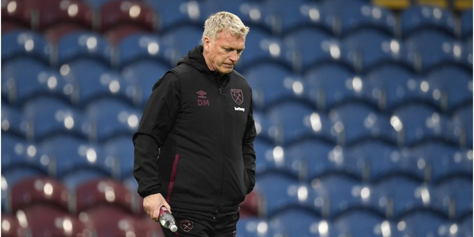 Moyes dejected after hopes of...