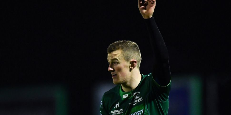 Connacht winger Fitzgerald for...