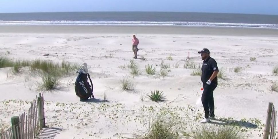 Lowry makes trip to the beach...