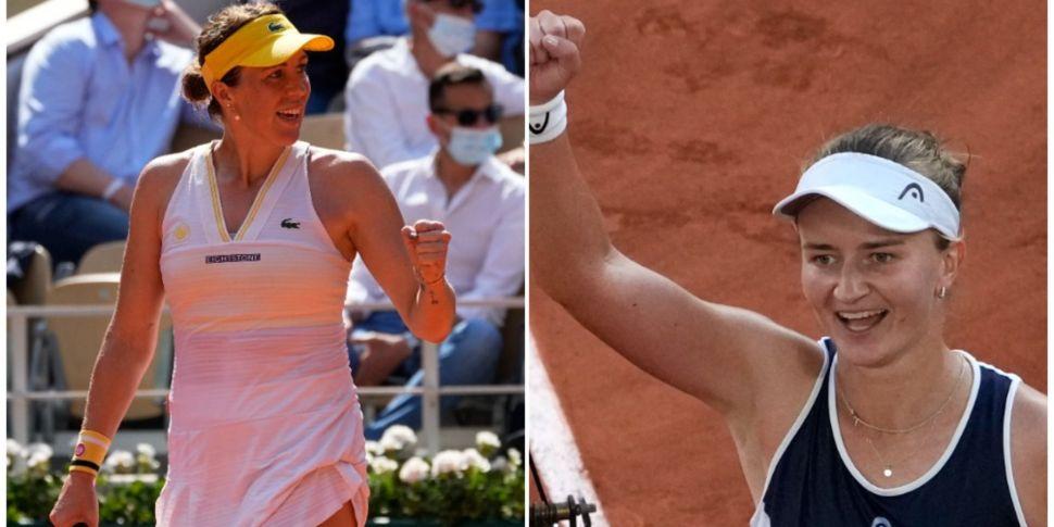 Pavlyuchenkova and Krejcikova...