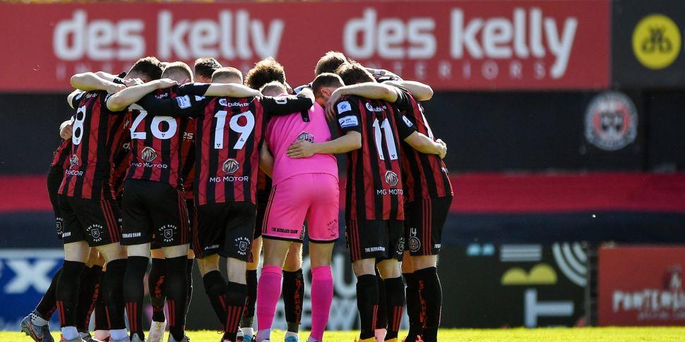 Bohemians & Sligo Rovers Icela...