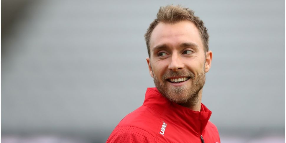 Christian Eriksen to be fitted...