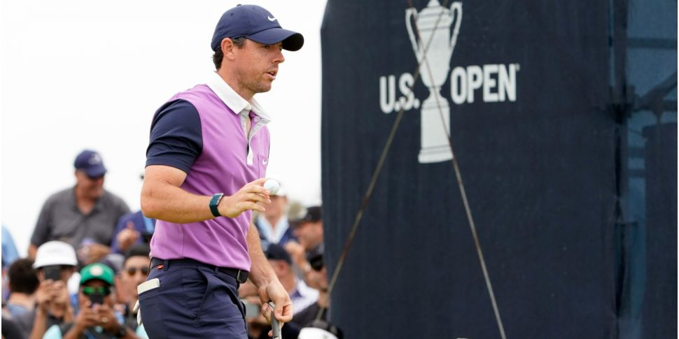 Rory McIlroy two off the lead...