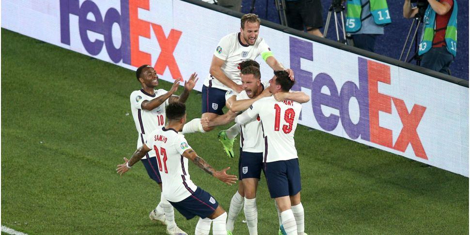 England bring 4-0 Ukraine win...