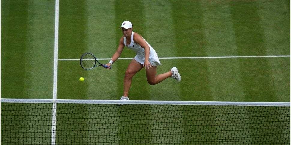 World number one Ash Barty win...