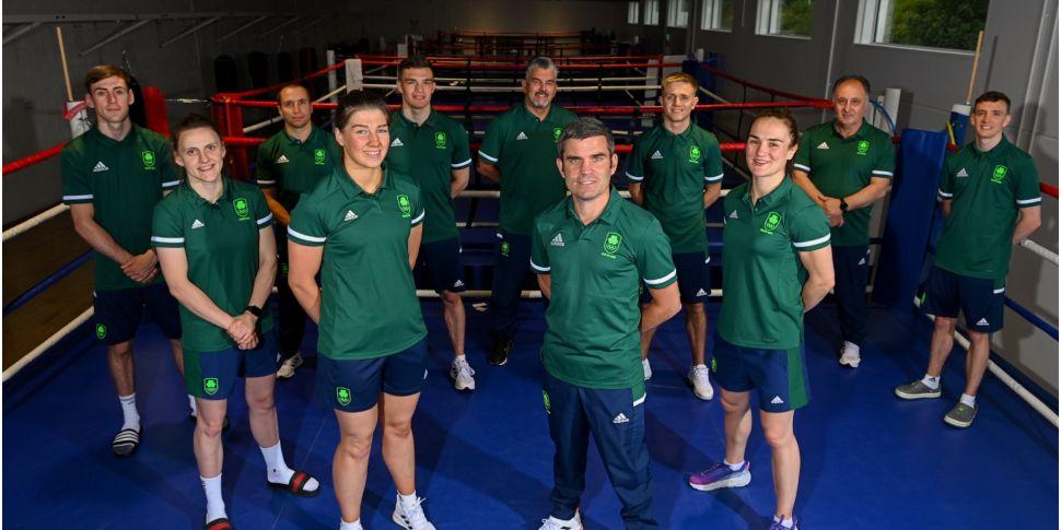 Irish boxers learn their fate...