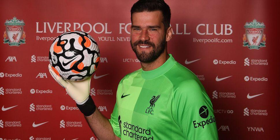 Alisson the latest Liverpool p...