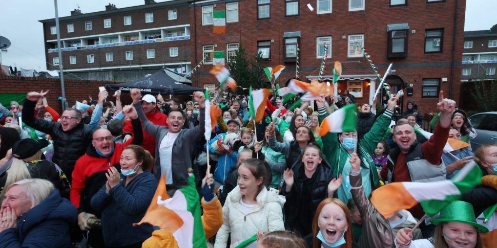 VIDEO | Ireland goes wild for...