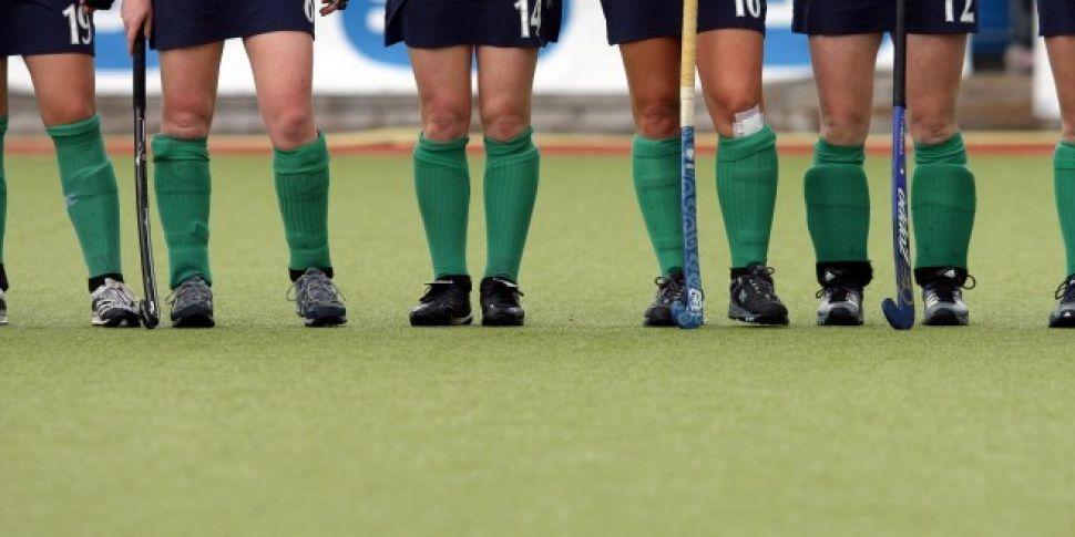 Irish hockey player Katie Mull...