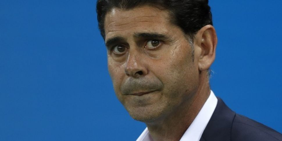 Hierro is being criticised by...