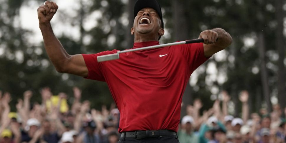 IN PICTURES: Tiger Woods wins...