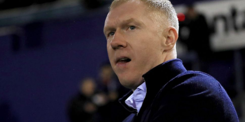 Paul Scholes charged over foot...