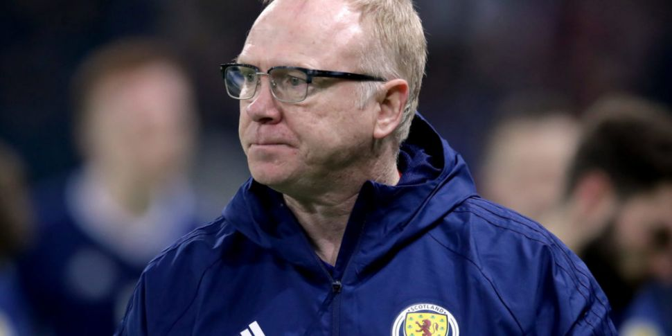 McLeish Sacked by Scotland
