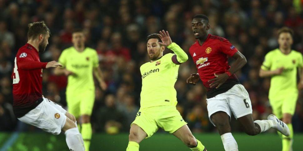Man United fall short against...