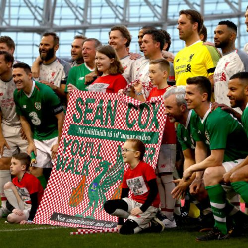 GALLERY: Sean Cox Charity Matc...