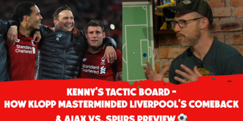 TACTICS BOARD: Kenny on Liverp...