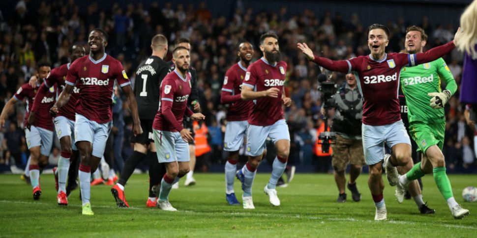 Aston Villa one win away from...