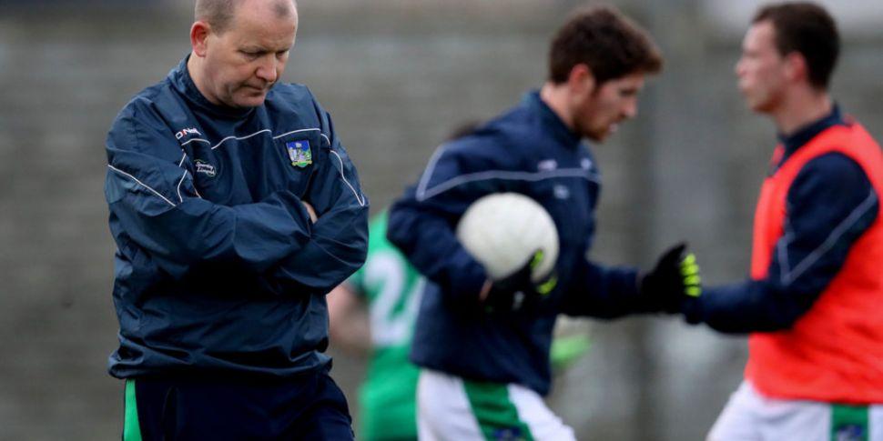 Limerick manager Billy Lee on...