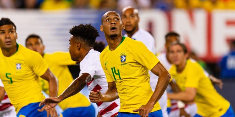 Fabinho left out of Brazil's C...
