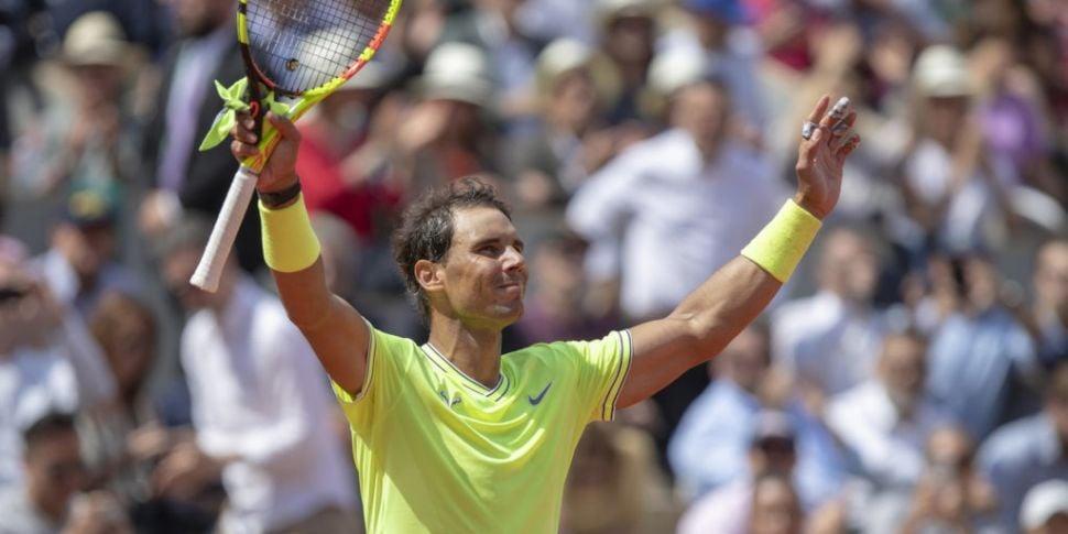 Nadal, Djokovic and Serena Wil...