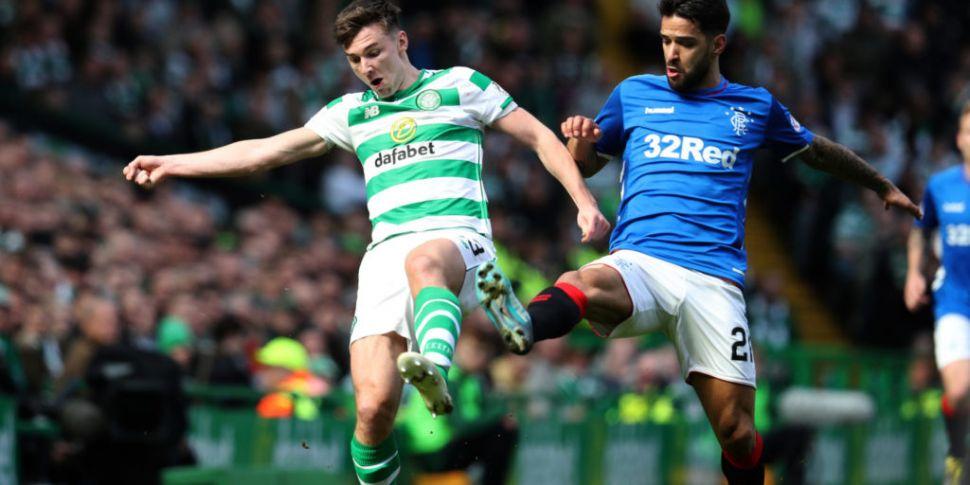 Celtic defender Kieran Tierney...