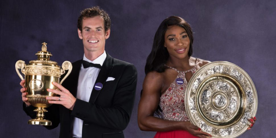 Andy Murray and Serena William...