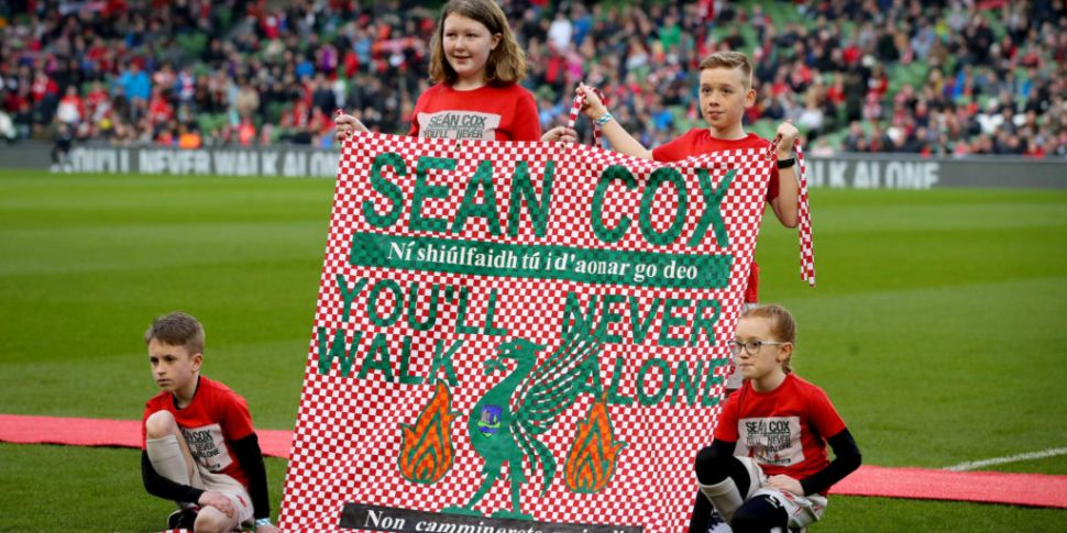 Liverpool Legends game raised...