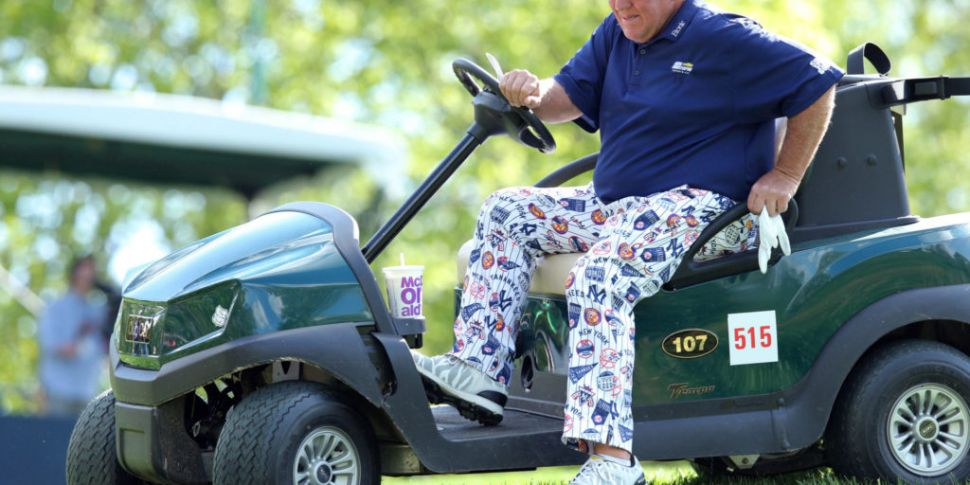 John Daly withdraws from the O...