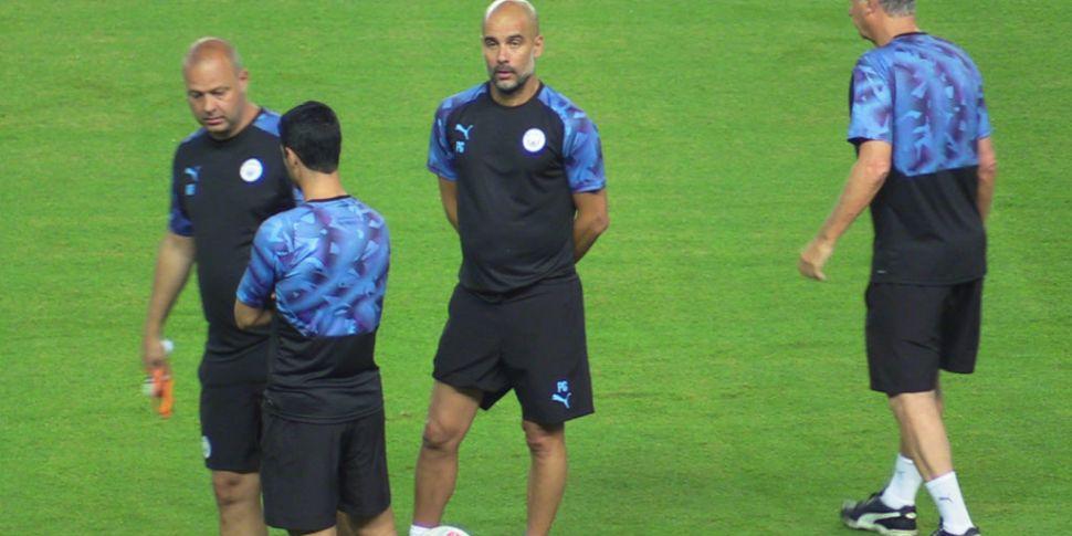 Pep Guardiola unsure if Kompan...